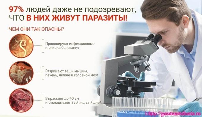 интоксик от паразитов отзывы